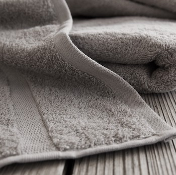 Hand Towel Cassis pearl grey