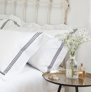Double fitted sheet 100% Long staple cotton Elba