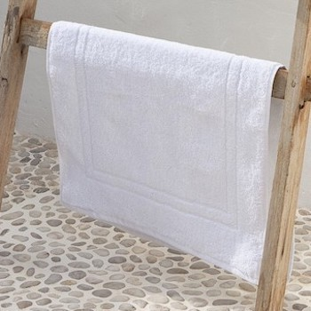 Bath Mat Scopello white