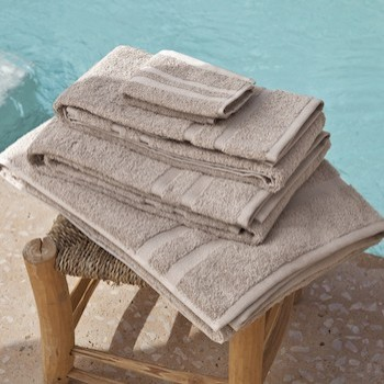 Guest Towel Set Laurel noisette