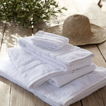 Bath Towel Set Savina white