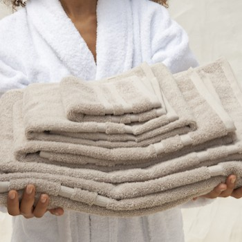 Bath Towel Cassis noisette