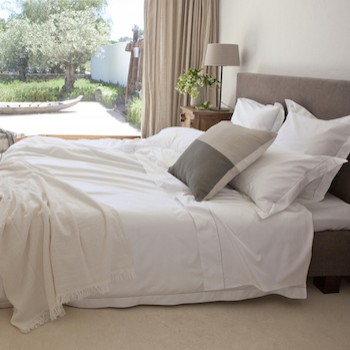 King fitted sheet 100% Egyptian cotton Tremiti