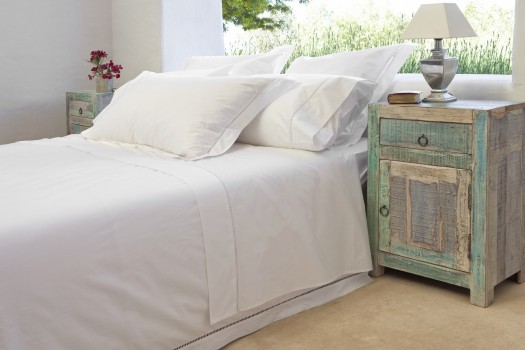 Queen fitted sheet 100% Egyptian cotton Saria