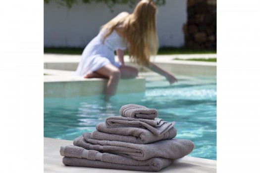 Towel Sheet Set Olivo pearl grey