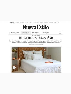 DEIA Living in Nuevo Estilo Magazine Spain